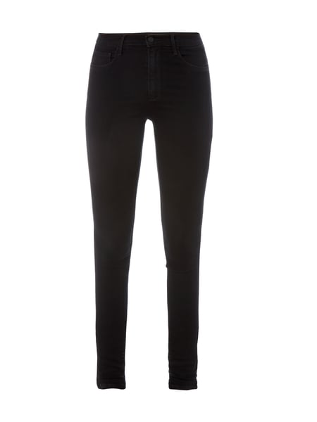 Only Coloured Skinny Fit Jeans Schwarz