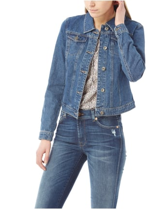 Only Cropped Stone Washed Jeansjacke Jeans - 1