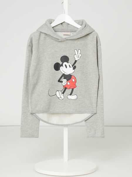 Only Hoodie mit Mickey Mouse©-Print Modell 'Mickey' Grau - 1