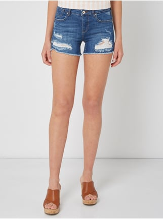 012569469c475c ... Only Jeansshorts im Destroyed Look Jeans - 1