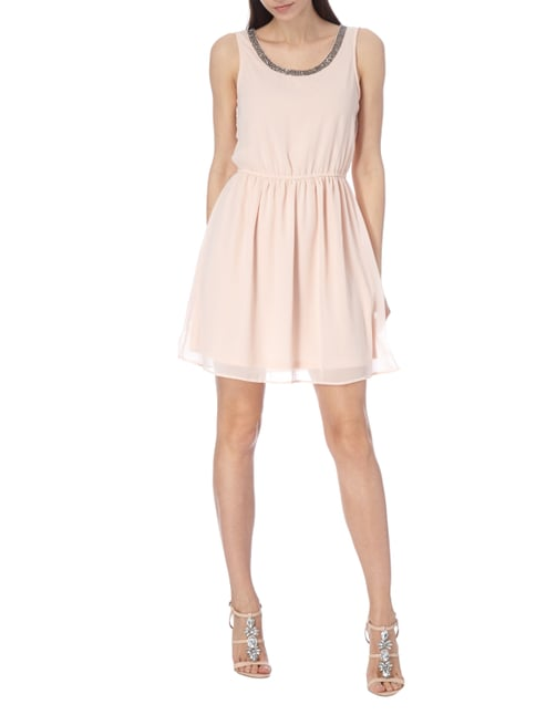 Only Kleid aus Chiffon in Rosé - 1