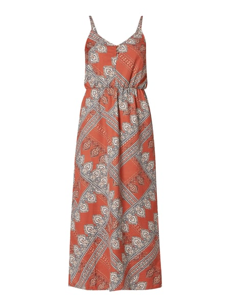 Only Maxikleid mit Paisleymuster Rot - 1