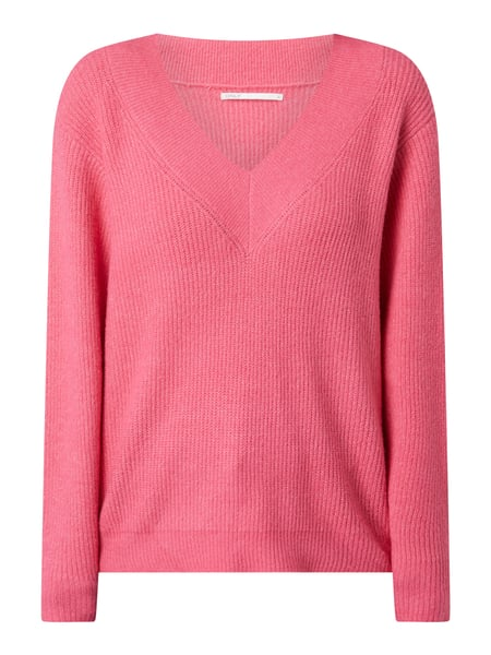 Only Pullover mit Stretch-Anteil Modell 'Tori' Rosa - 1