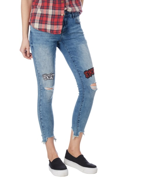 Only Skinny Fit Jeans im Destroyed Look Jeans - 1