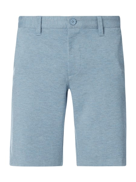 Only & Sons Chino-Shorts aus Viskosemischung Modell 'Mark' Blau - 1