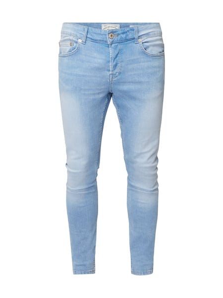 2af40257995077 ONLY-SONS Double Stone Washed Slim Fit Jeans in Blau   Türkis online ...