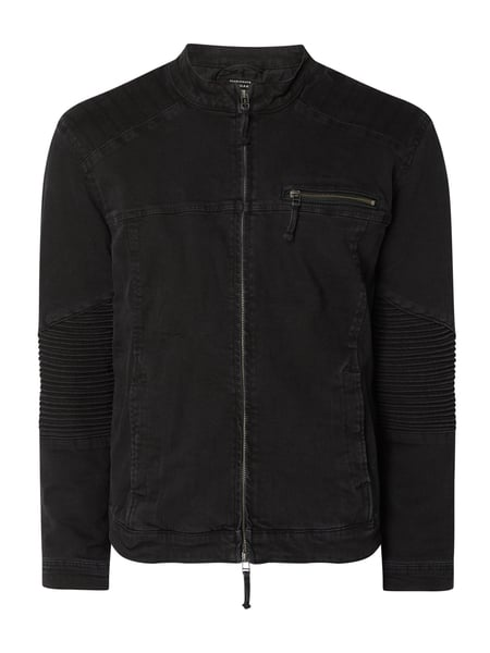 Only & Sons Jeansjack, model 'Ray' - 'Better Cotton Initiative' Zwart - 1