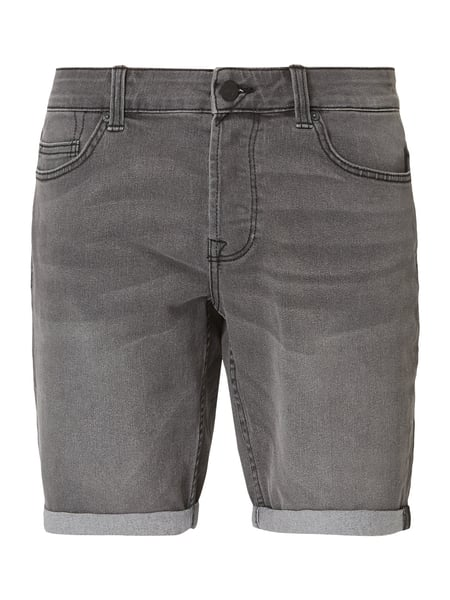 Only & Sons Jeansshorts mit Knopfleiste Grau - 1