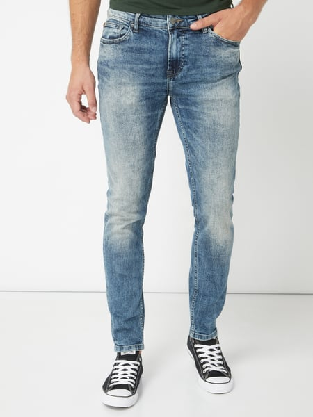 64cd7113fe03 Only   Sons Jeansy w odcieniu Double Stone Washed o kroju skinny fit Dżins  - 1
