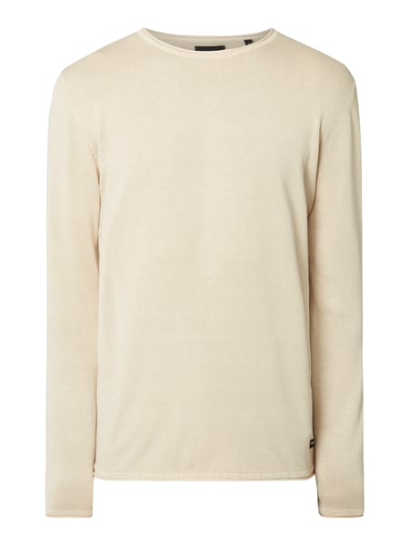 Only & Sons Pullover im Washed Out Look Sand