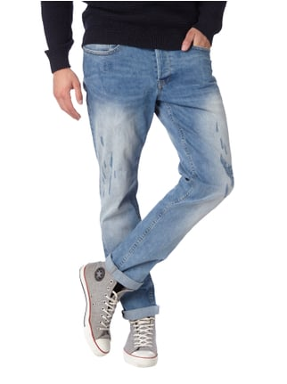 Only & Sons Regular Fit Jeans im Destroyed Look Jeans - 1