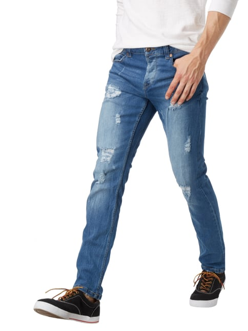 Only & Sons Slim Fit Jeans im Destroyed Look Jeans - 1