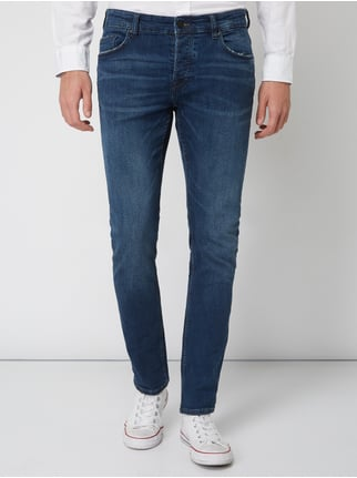 d18aa232c1fcf9 ... Only   Sons Slim Fit Jeans im Used Look Jeans - 1
