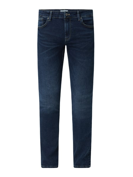 Only & Sons Slim Fit Jeans mit Stretch-Anteil Modell 'Loom' Blau - 1