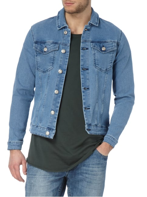 Only & Sons Stone Washed Jeansjacke mit Stretch-Anteil Jeans - 1