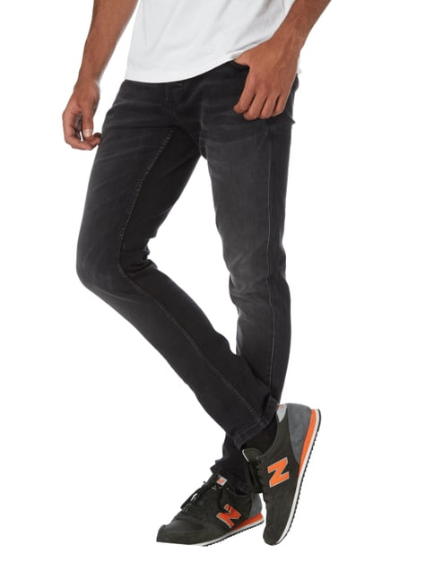 Only & Sons Stone Washed Slim Fit Jeans Hellgrau - 1