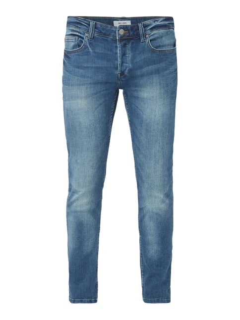 Only   Sons Stone Washed Slim Fit Jeans Blau   Türkis ... c045aa1e8c