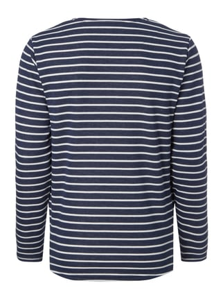 Only & Sons Sweatshirt mit Streifenmuster Marineblau - 1