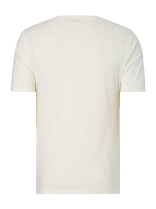 Only & Sons T-Shirt mit Allover-Muster Weiß - 1