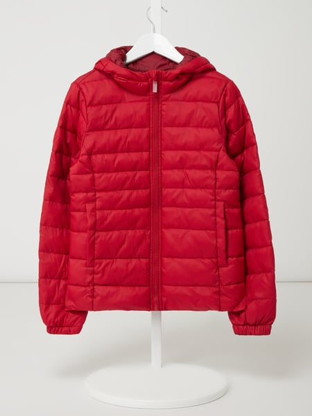 Only Steppjacke mit Kapuze Modell 'Tahoe' Rot - 1