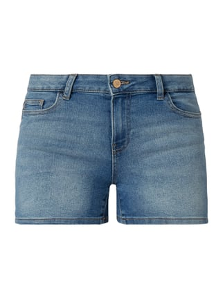 ff4e5a7a4f6fc9 Only Stone Washed Slim Fit Jeansshorts Blau   Türkis - 1 ...