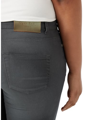 PLUS SIZE - Stone Washed Jeans OPEN END online kaufen - 1