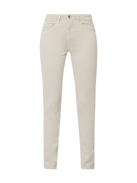 Opus Coloured Slim Fit Jeans Beige - 1