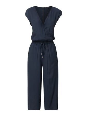 Opus Jumpsuit in Wickel-Optik Blau / Türkis - 1