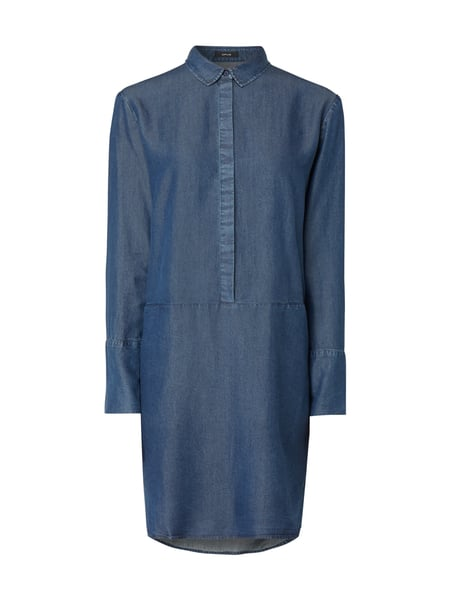 Opus Kleid in Denim-Optik Blau - 1
