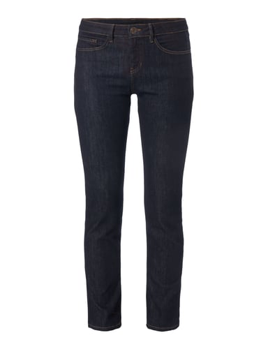 Rinsed Washed Skinny Fit 5-Pocket-Jeans Blau / Türkis - 1