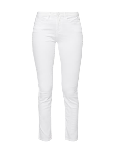 Opus Skinny Fit 5-Pocket-Hose Weiß - 1