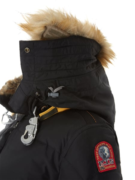 finest selection 392ef ff18b PARAJUMPERS Daunenmantel mit abnehmbarer Kapuze in Grau ...
