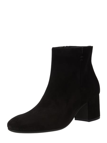 PAUL GREEN – Booties aus Veloursleder – Schwarz