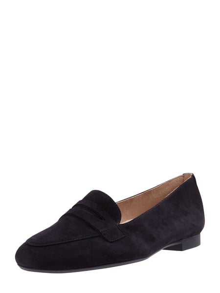 PAUL GREEN Loafer aus Veloursleder Blau - 1