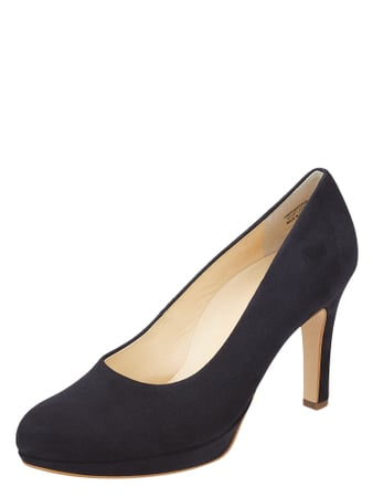 PAUL GREEN Pumps aus Veloursleder Blau - 1