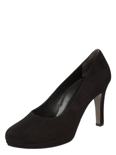 PAUL GREEN Pumps aus Veloursleder Schwarz - 1