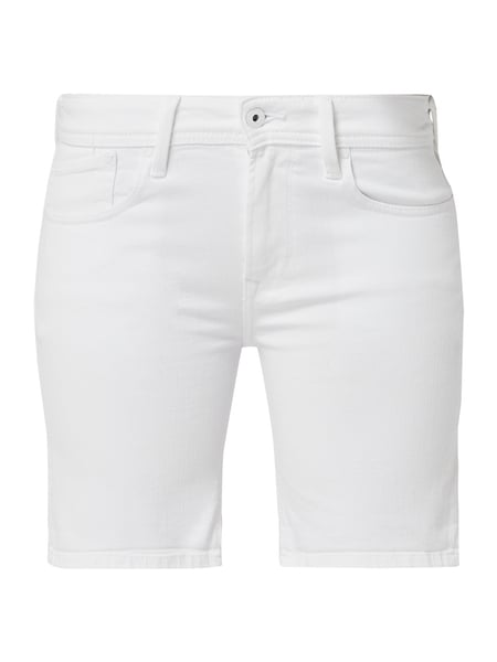 Pepe Jeans Coloured Denim Jeansshorts Weiß - 1