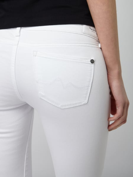 los angeles e0985 dab78 Pepe Jeans – Coloured Skinny Fit Jeans – Weiß