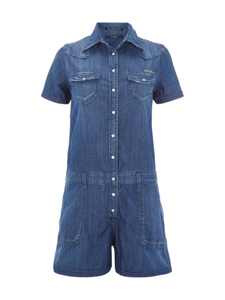 differently 4c17c 7fd3d PEPE-JEANS Jumpsuit aus Denim in Blau / Türkis online kaufen ...