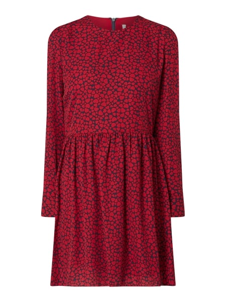 promo code 085e3 a6982 Pepe Jeans – Kleid mit Allover-Muster – Rot
