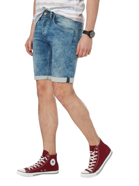 Pepe Jeans Moon Washed Regular Fit Jeansshorts Jeans - 1
