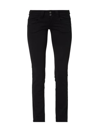 Pepe Jeans Regular Fit Hose mit Stretch-Anteil Schwarz - 1