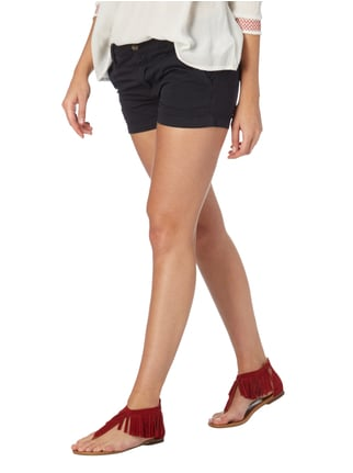 Pepe Jeans Regular Fit Shorts aus Baumwoll-Elasthan-Mix Dunkelblau - 1