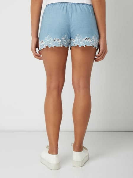 release date: official images website for discount Pepe Jeans – Shorts aus reinem Lyocell – Lila