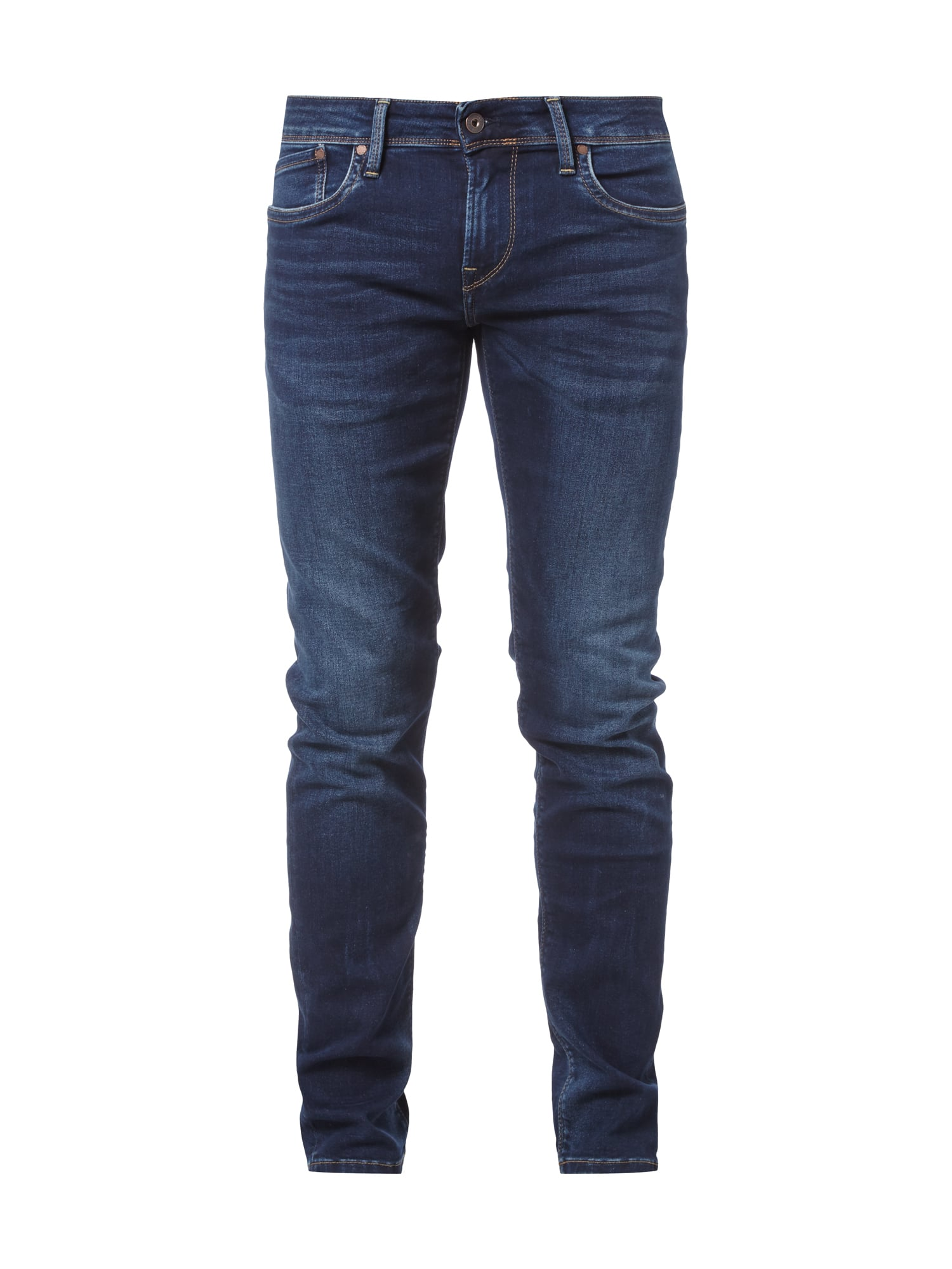 pepe jeans stone washed low waist jeans im slim fit in. Black Bedroom Furniture Sets. Home Design Ideas