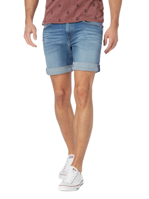 Pepe Jeans Stone Washed Slim Fit Jeansshorts Jeans - 1