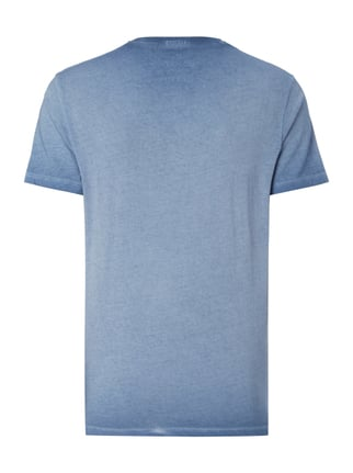 Pepe Jeans T-Shirt im Washed Out Look Marineblau - 1