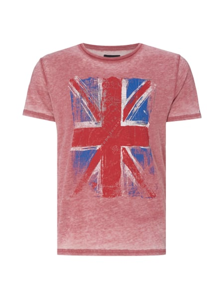 e4c62a0d5b72 PEPE-JEANS T-Shirt mit Flaggen-Print in Rot online kaufen (9165025 ...