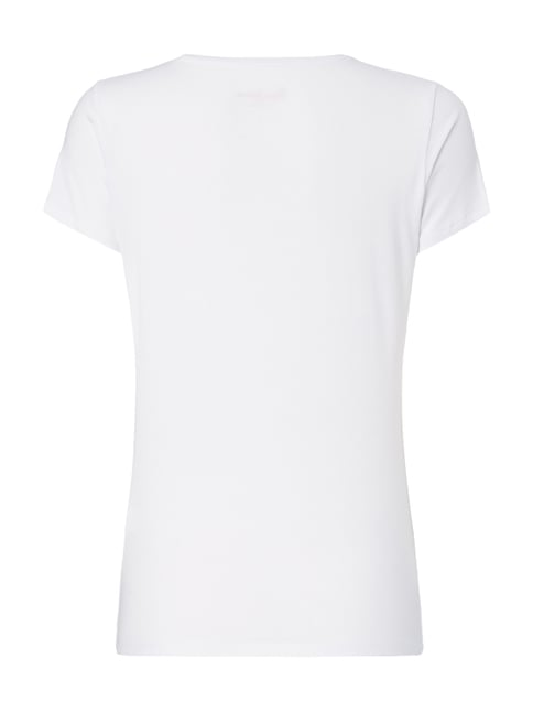 Pepe Jeans T-Shirt mit Logo-Print Offwhite - 1