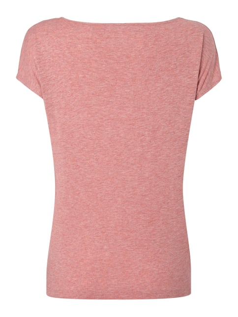 Pepe Jeans T-Shirt mit Print Koralle meliert - 1